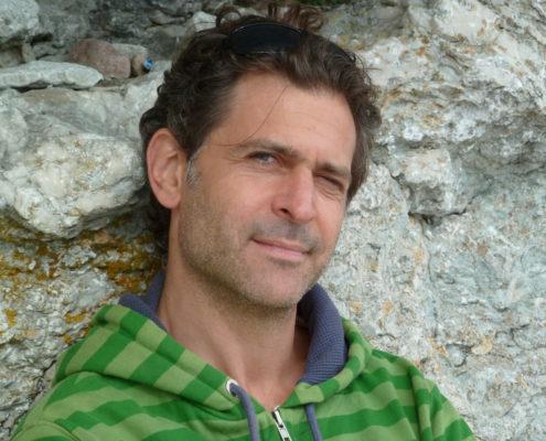 Porträtt Daniel Goldmann, skådespelare