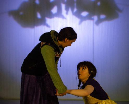 Blanca & Bianca - Ett trottoardrama, regi Daniel Goldmann