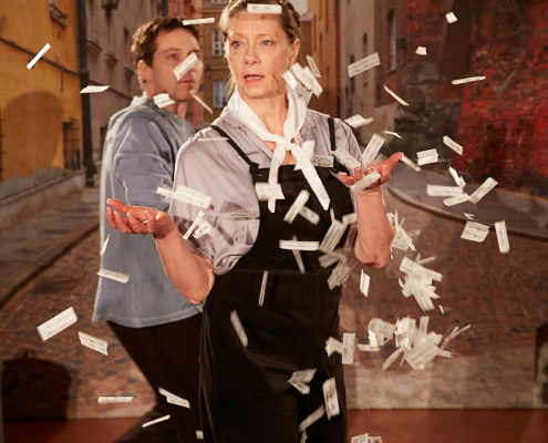 Irena - ingen ängel, regi Daniel Goldmann